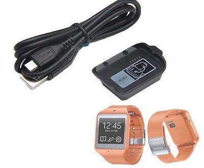 smartwatch charger charging dock cradle cable for samsung. Black Bedroom Furniture Sets. Home Design Ideas