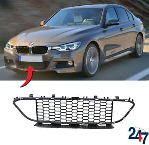 NEW-BMW-3-SERIES-F30-F31-2012-M-SPORT-FRONT-BUMPER-LOWER-CENTER-GRILLE-8054132