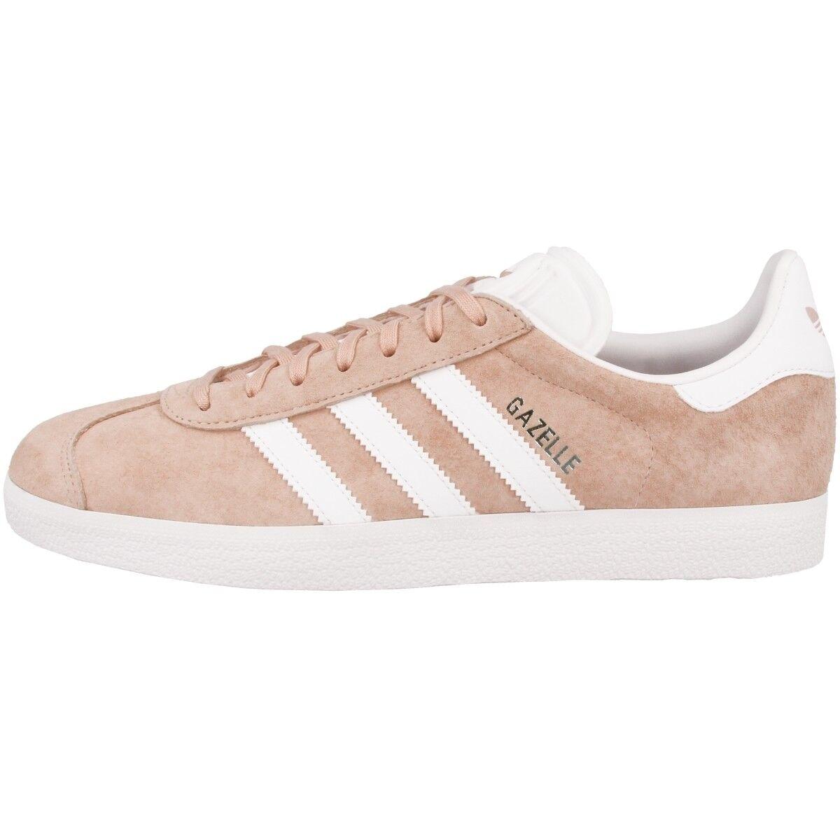 ADIDAS Gazelle Scarpe Retro scarpe da ginnastica Tempo Libero Uomo scarpe da ginnastica rosa bianca bb5472