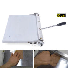 Stainless Steel 35cm Folding Machine Silver Leather Creasing Equipment Usa
