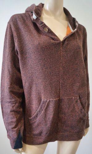 Paul Menswear Felpa Jeans Smith Orange cappuccio con Speckle Top Black M Cotton ArARq7