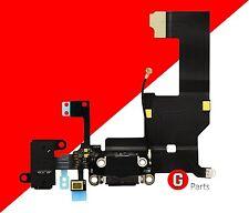 Org.✅ iPhone 5 Ladebuchse USB Charger Dock Connector Mikrofon Flex SCHWARZ BLACK