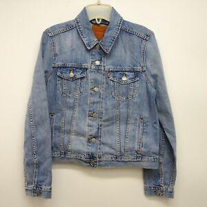 Longues Bleu Veste Levi's 29945 Jeans Neuf Détails Sur M Manches Taille Femmes Camionneur 8Nn0mw