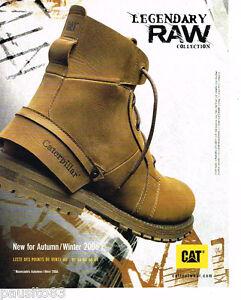 Advertising 085 Caterpillar Chaussures Botillons Legendery Publicite Les 2006 dfx6x5q