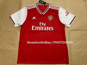 the latest 6e9b1 69871 Details about BNWT Adidas 2019/20 ARSENAL GUNNERS Home S/S Soccer Jersey  Football Shirt EH5637