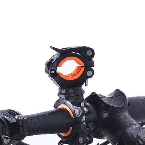 360° Cycle Bicycle Light Lamp Torch LED Flashlight Mount Bracket Holder BLIS