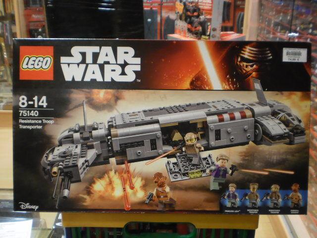 RESISTANCE TROOP TRANSPORTER STAR WARS LEGO