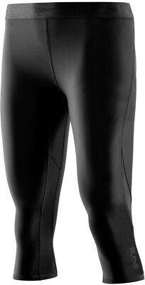 Skins Dnamic Womens Compression 3/4 Tights - Black