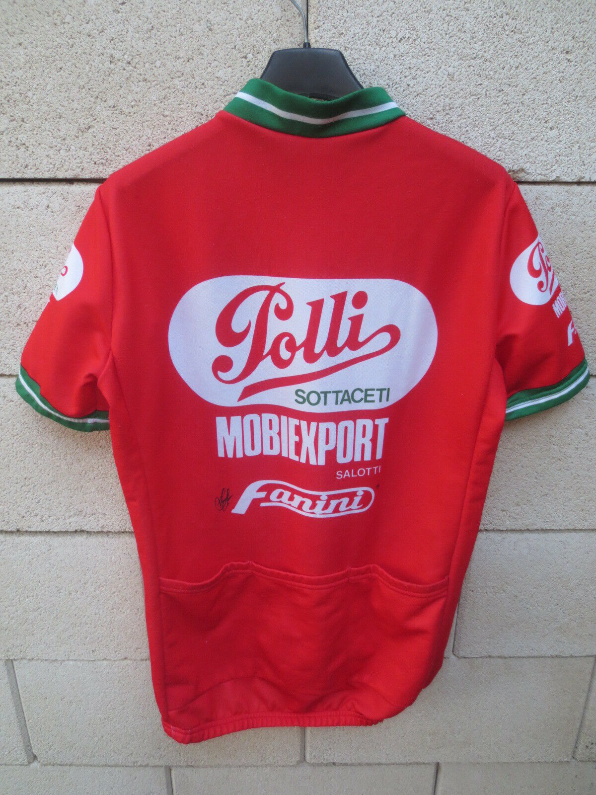 Maillot MOBIEXPORT cycliste POLLI MOBIEXPORT Maillot 1989 vintage camiseta  shirt cycling trikot 4 b7251e