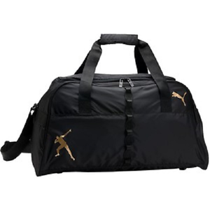 7f93c7004549 NEW Puma Usain Bolt Black Performance Sports Gym Duffel Bag RARE ...