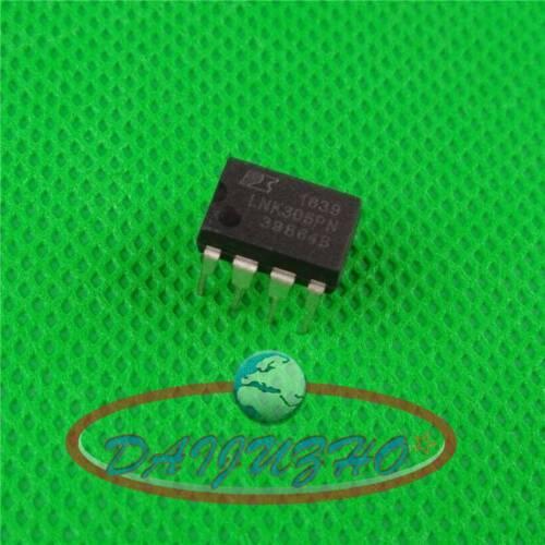 10PCS New LNK305PN Manu:PI Encapsulation:DIP-7,IC SWITCH OFF-LINE MDCM//CCM 8DIP