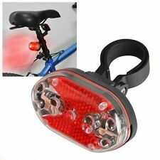 Bright Bike Bicycle Cycling 9 LED Flashing Light Lamp Safety Back Rear Tail FS