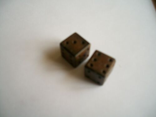 """Dyed 15x15mm 1 pair,Water Buffalo Horn Dice 5//8/""""x5//8/"""""""