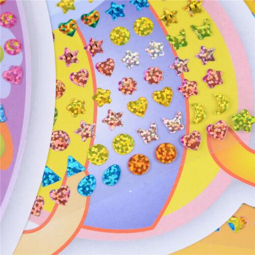 Kristall Stick Ohrringe Aufkleber SpielzeugKörperTaschen Party Schmuck GeschenYE