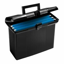 Pendaflex Portable File Box Black 11 H X 14 W X 6 12 D 41732
