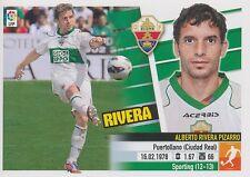 N°12 ALBERTO RIVERA PIZARRO # ESPANA ELCHE.CF STICKER PANINI ESTE LIGA 2014