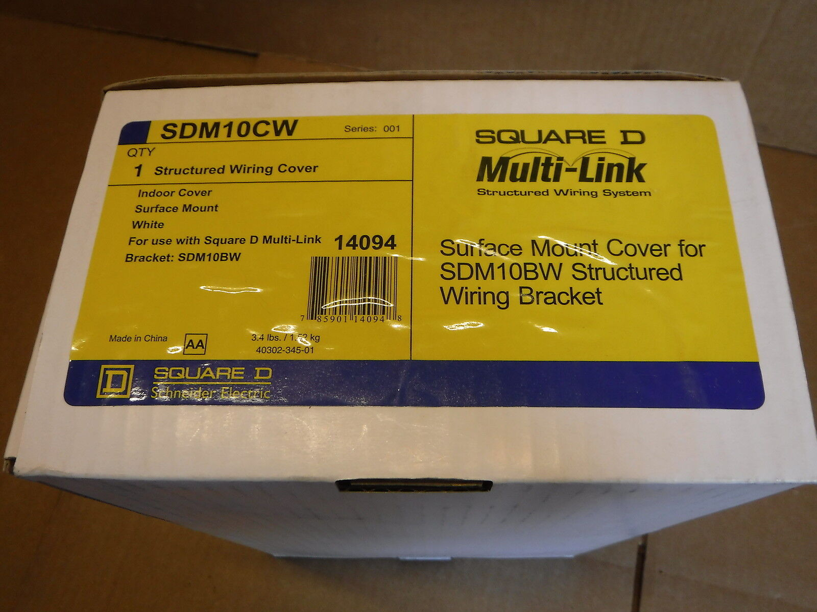 Square D Multi Link Structured Wiring Mounting Bracket Sdm10bw Ebay Diy