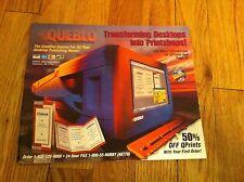 Vintage QUEBLO Mail Order Catalog Desktop Publishing Computer Software RARE Tech