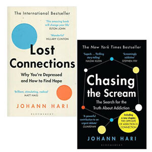 Johann-Hari-Lost-Connections-Chasing-the-Scream-Truth-2-Books-Collection-Set