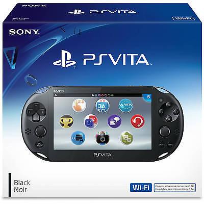 Sony Playstation Vita - PS Vita - New Slim Model - PCH-2006 (Black) NEW