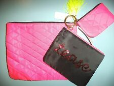 La Senza Beauty Bags Set New with Tags Cosmetic Make Up Wash bags Purse Bundle