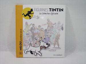 Livre Figurines Tintin N°6 Milou Promène Son Os Editions Moulinsart 2011 Larges VariéTéS