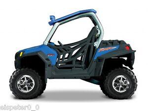 Polaris-RZR-900-blau-ATV-Modell-1-32-Maisto-Neu-OVP