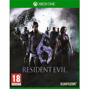 Resident-EVIL-6-Rimasterizzato-Xbox-NUOVO-One-SIGILLATO-inc-tutti-Mappa-amp-multiplayer-DLC