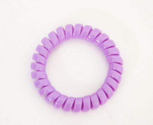 Uni Chouchou Ressort x1 Bracelet Elastique Fil Téléphone Accessoire Cheveux
