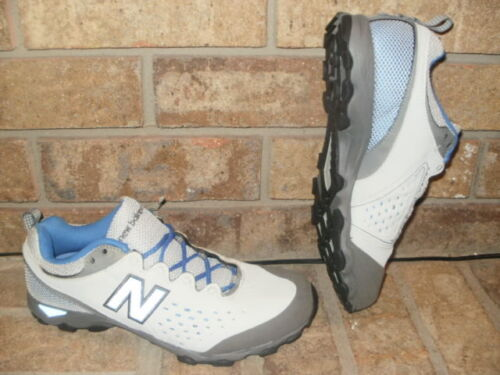 NEW BALANCE WT700GR WOMEN/'S TRAIL RUNNING SHOES $75 GRAY-BLUE $80