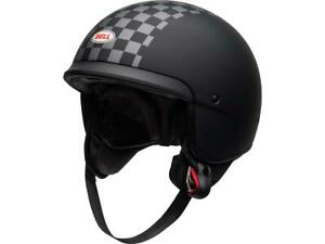 Casque-jet-moto-BELL-Scout-Air-Matte-Black-White-NEW-2021