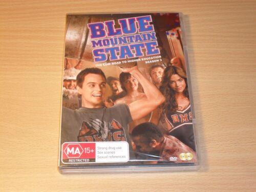1 of 1 - Blue Mountain State Season 3 The Third Series Three Denise Richards (DVD) GC
