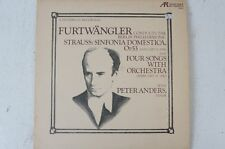 Strauss Sinfonia Domestica Four Songs with Orchestra Furtwängler Berliner (LP32)