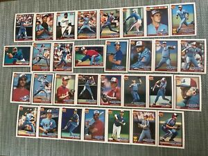 1991-MONTREAL-EXPOS-Topps-COMPLETE-Baseball-Team-Set-31-Cards-RAINES