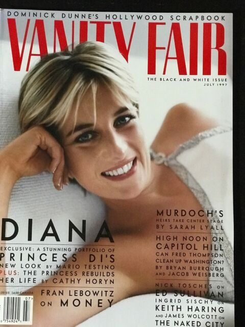 PRINCESS DIANA Vanity Fair Magazine July 1997