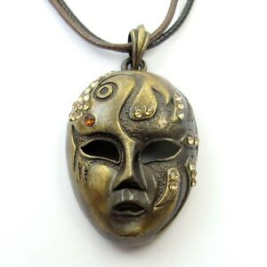 Exquisite-Copper-Coated-Crystal-Beauty-Face-mask-Pendant
