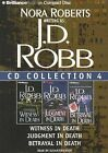J.D. Robb CD Collection 4: Witness in Death, Judgment in Death, Betrayal in Death by J D Robb (CD-Audio, 2011)