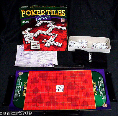 AnalíTico 2005 Poker Tiles Game By Master Pieces Real Poker Action - Complete
