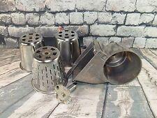 Vintage KitchenAid Hobart All Metal Slicer Shredder Mixer Attachment w 3 Cones