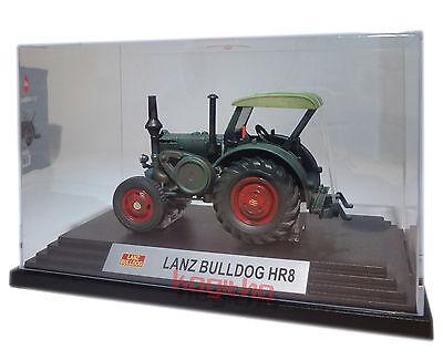Traktor Blechmodell mit Bilderrahmen gelb