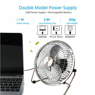 USB Fan Cooler Portable Size Long Using Time Energy-Saving Quiet Fan Rechargeable Handheld Mini Portable Fan Best Gifts