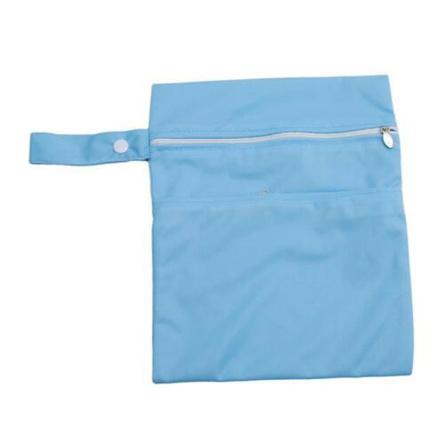 Useful Zip Wet Dry Bag for Baby Infant Cloth Diaper Nappy Pouch Reusable Y2