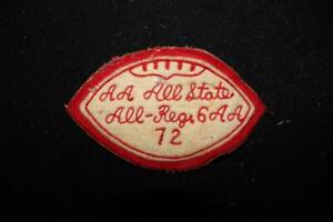VINTAGE-1960-039-S-1970-039-S-FOOTBALL-RUNNER-UP-WHITE-AND-RED-PATCH-4-1-2-034-X-3-034