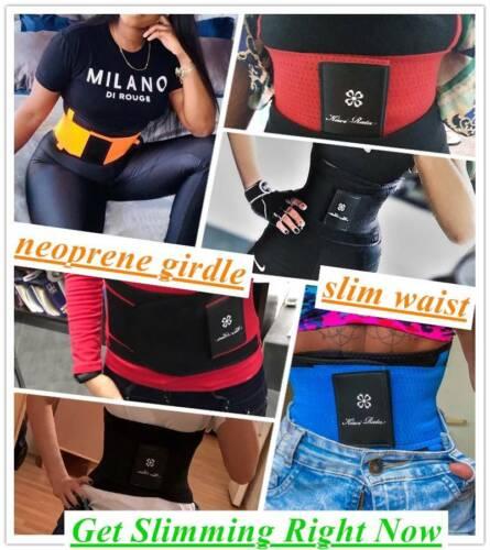 Waist Trainer Cincher Sauna Sweat Belt Sport Body Shaper Men//Women Slim Girdle