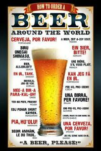 Beer-How-to-Order-Maxi-Poster-61cm-x-91-5cm-new-and-sealed