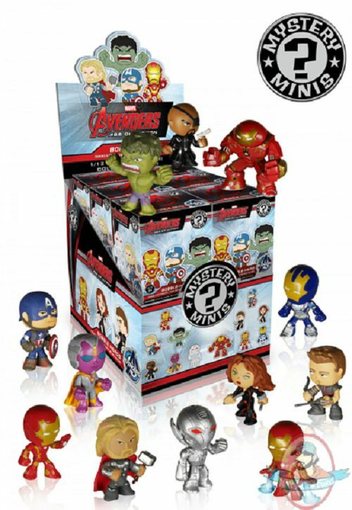 Marvel Avengers Age of Ultron Mystery Minis Case of 12 Funko