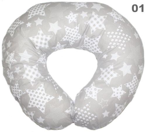 Bezug für Stillkissen für Baby Lagerungskissen Baumwolle