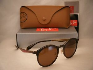 c9c4da14e6c9e Ray Ban 4277 Emma Matte Havana w Brown Lens NEW sunglasses (RB4277 ...