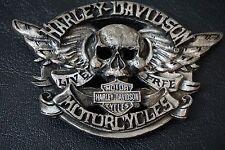 Harley Davidson Winged Skull Limited Edition Belt Buckle