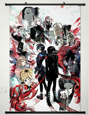 Anime Tokyo Ghoul Kaneki Ken Whole Home Decor Poster Wall Scroll Japan New 138